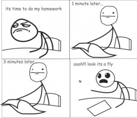 Grad research procrastination