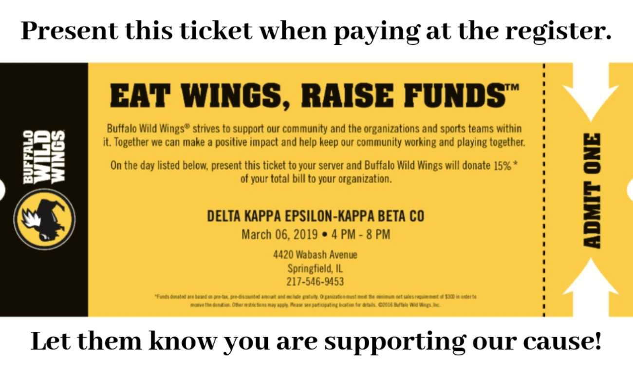 Eat Wings To Support Habitat For Humanity Of Sangamon County Uis Connection