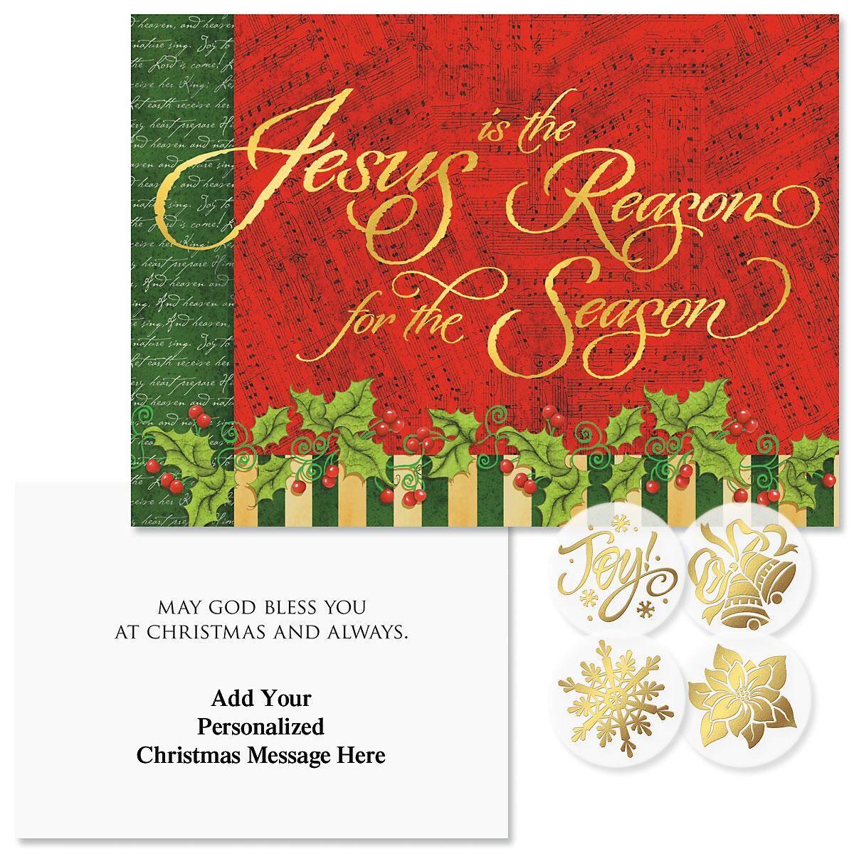 Joyful Season Christmas Cards Colorful Images