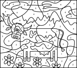 cow coloring page printables apps for kids