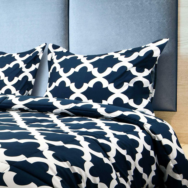 grey king utopia bedding printed comforter set with 2 pillow shams comforters bedding sets home garden
