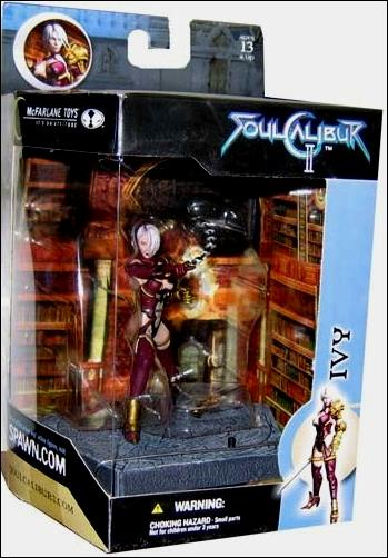 Soul Calibur II Ivy Jan 2003 Action Figure By McFarlane Toys