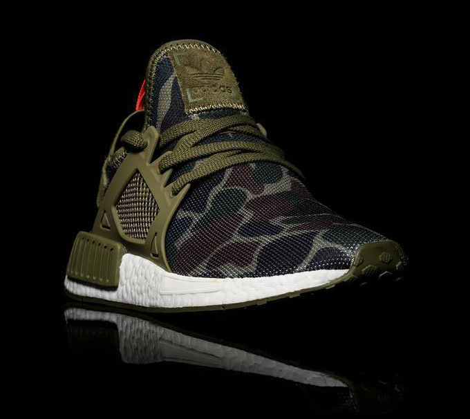 adidas NMD XR1 Green Camo Toe