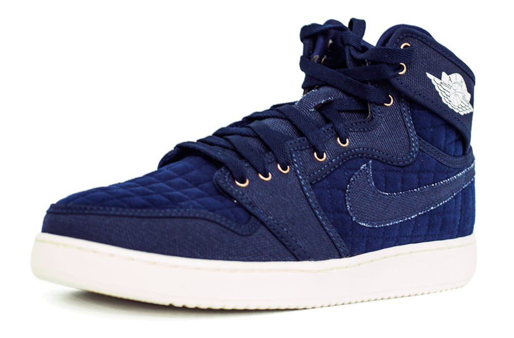 Air Jordan 1 KO Navy Canvas 638471-403