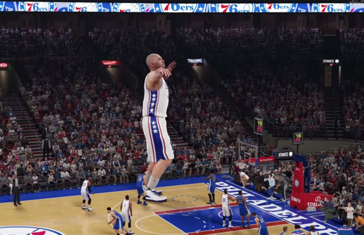 Watch How Crazy NBA 2K16 Gets When You Create Either A