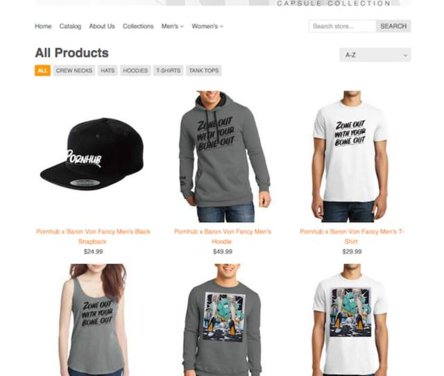 Pornhub Rolls Out New Nyc Based Fashion Line Erects Pop Up Shop At Nyc Hot Dog Spot Complex