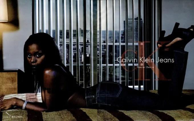 Foxy Brown For Calvin Klein The 90 Best Hip Hop Fashion
