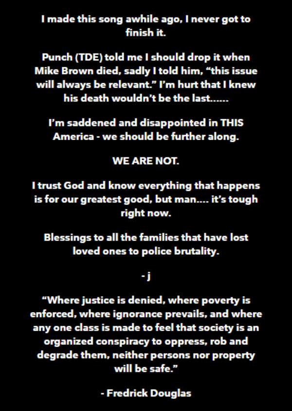 Jay-Z's message releasing