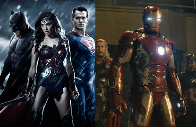 Image result for mcu and dceu