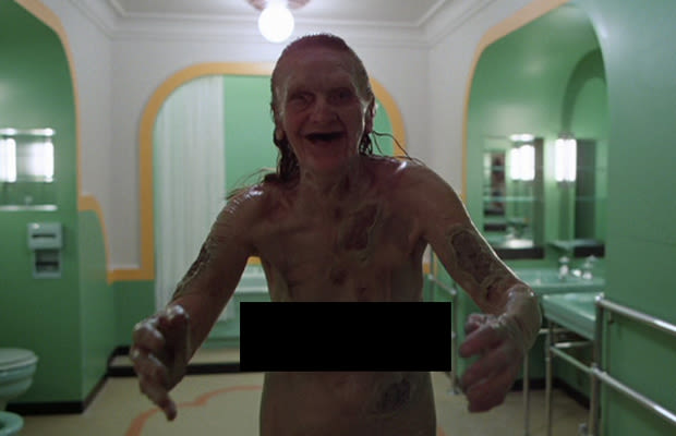 The Shining The Naked Old Lady Gallery The 25 Scariest