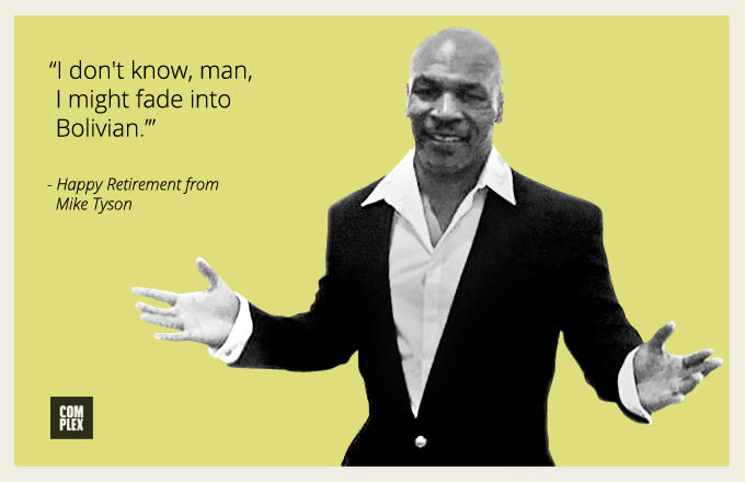 mike tyson merry christmas cards