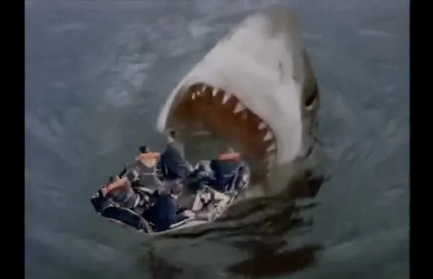 Megalodon Life Raft Gallery The Best Shark Attacks In