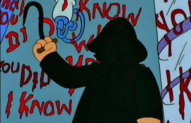 Résultats de recherche d'images pour «Treehouse of horror X Know What You Diddily-Iddily-Did»