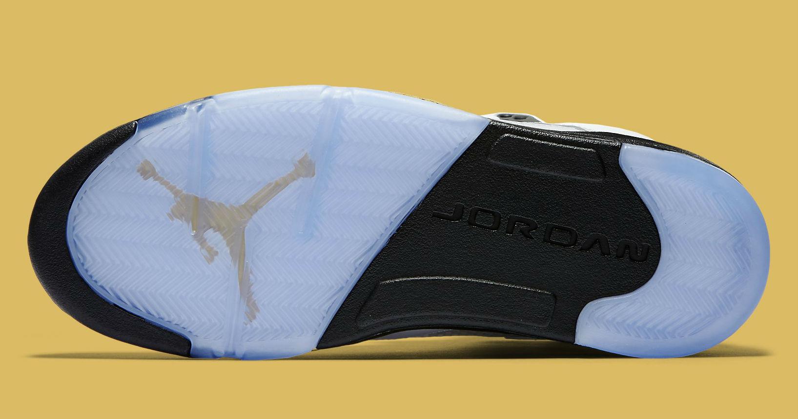 Gold Jordan 5 Release Date Sole 136027-133