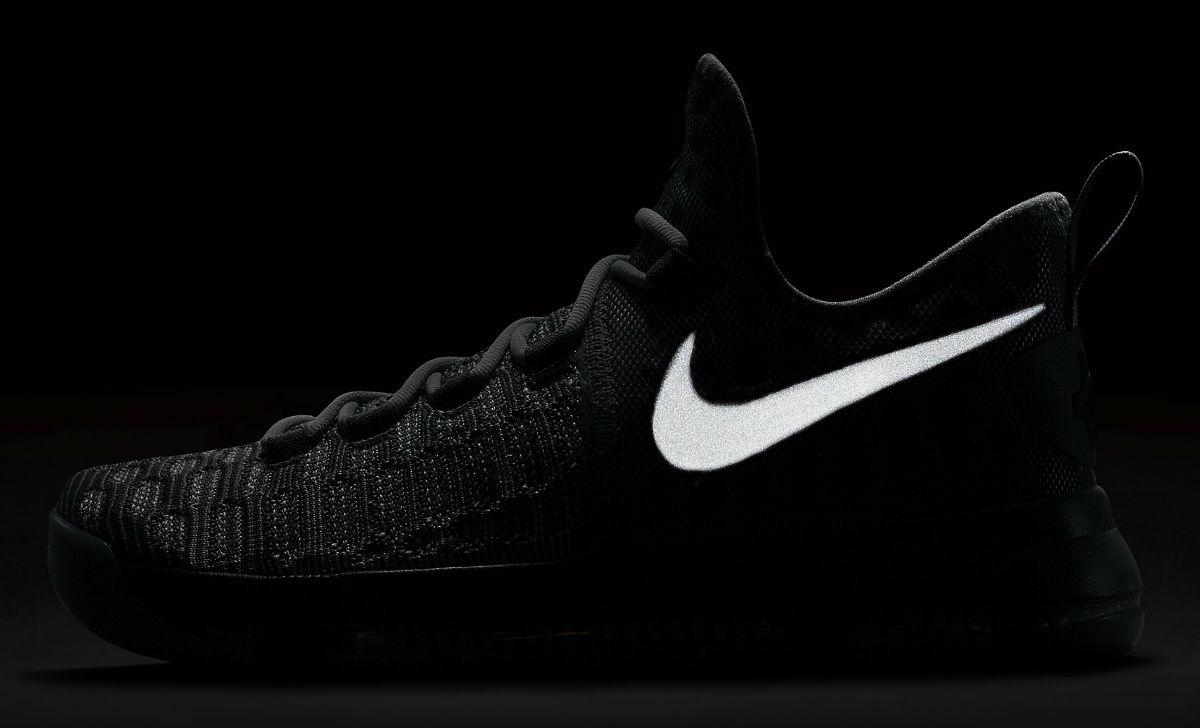 Nike KD 9 Batalla gris Reflect 843392-002