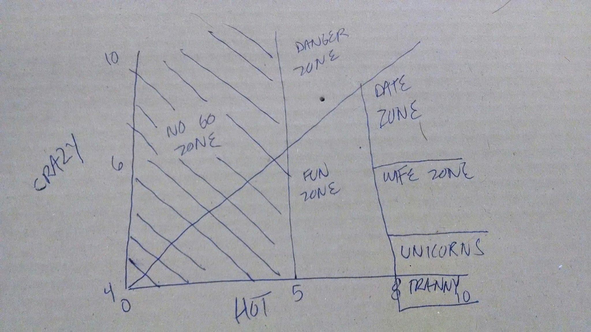 Understanding Wimminz The Hot Crazy Matrix