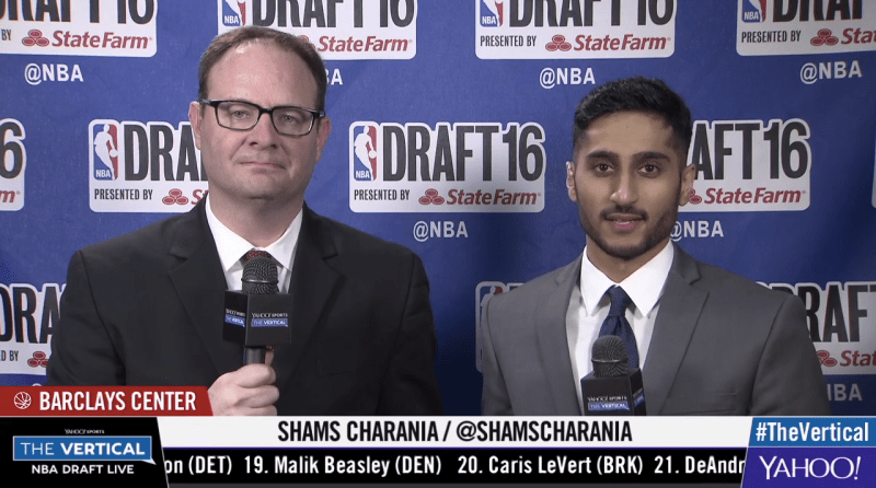 Meet The Vertical's Shams Charania, the College Senior Breaking NBA News in  Class | Complex