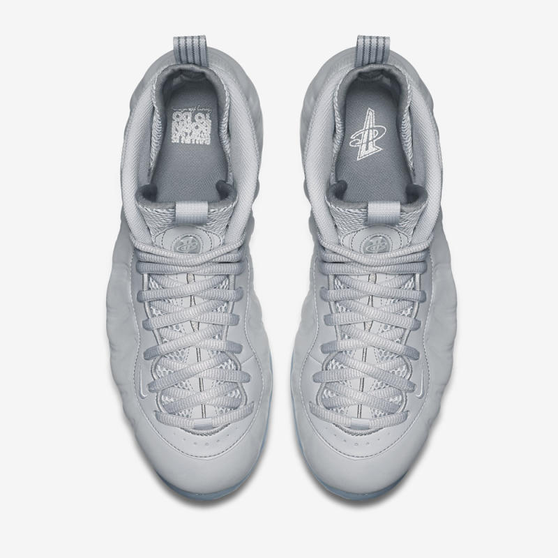 """low priced 51579 b58a7 Nike Air Foamposite One """"Grey Suede"""" 