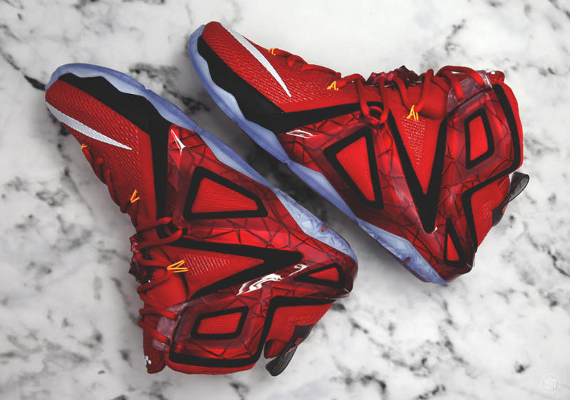 """Here s Your Best Look Yet at the Nike LeBron 12 Elite """"Team"""" Edition ... 42e602a40"""