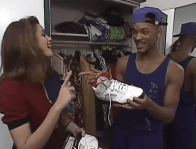 """TBT: Cindy Crawford Interviews Will Smith for MTV's """"House of Style"""" 
