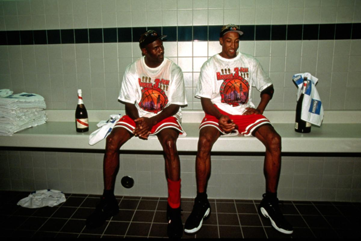 Scottie Pippen Said He And Michael Jordan Weren T Cool In