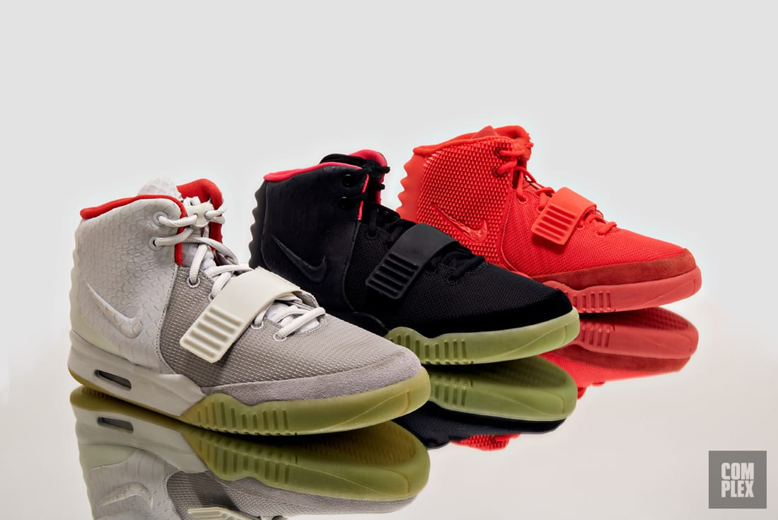 Kanye West Air Yeezy 2 Red
