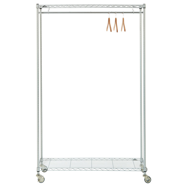 garment hanging rack the container store