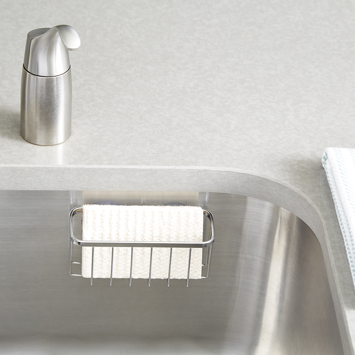 sink caddy the container store