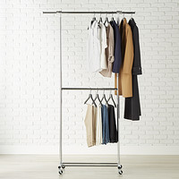 clothes racks garment racks rolling clothing racks the container store