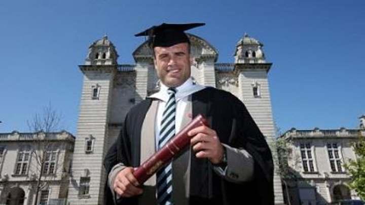 Jamie-Roberts Cardiff University