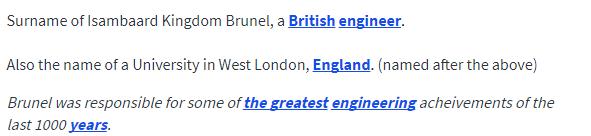 UD Brunel