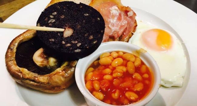 Jones Cafe Bistro breakfast stack