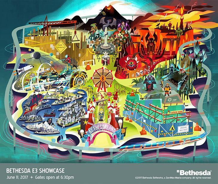 Watch Bethesda E3 2017 Press Conference Live