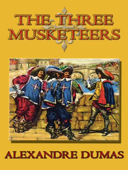 Cover image, The Three Musketeers by Alexandre Dumas