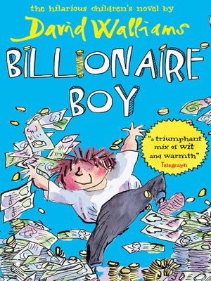 Cover of Billionaire Boy
