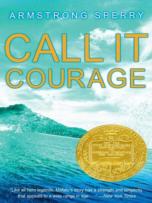 Cover of Call It Courage