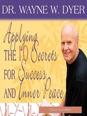 Dr Wayne W Dyer OverDrive EBooks Audiobooks And Videos For Libraries