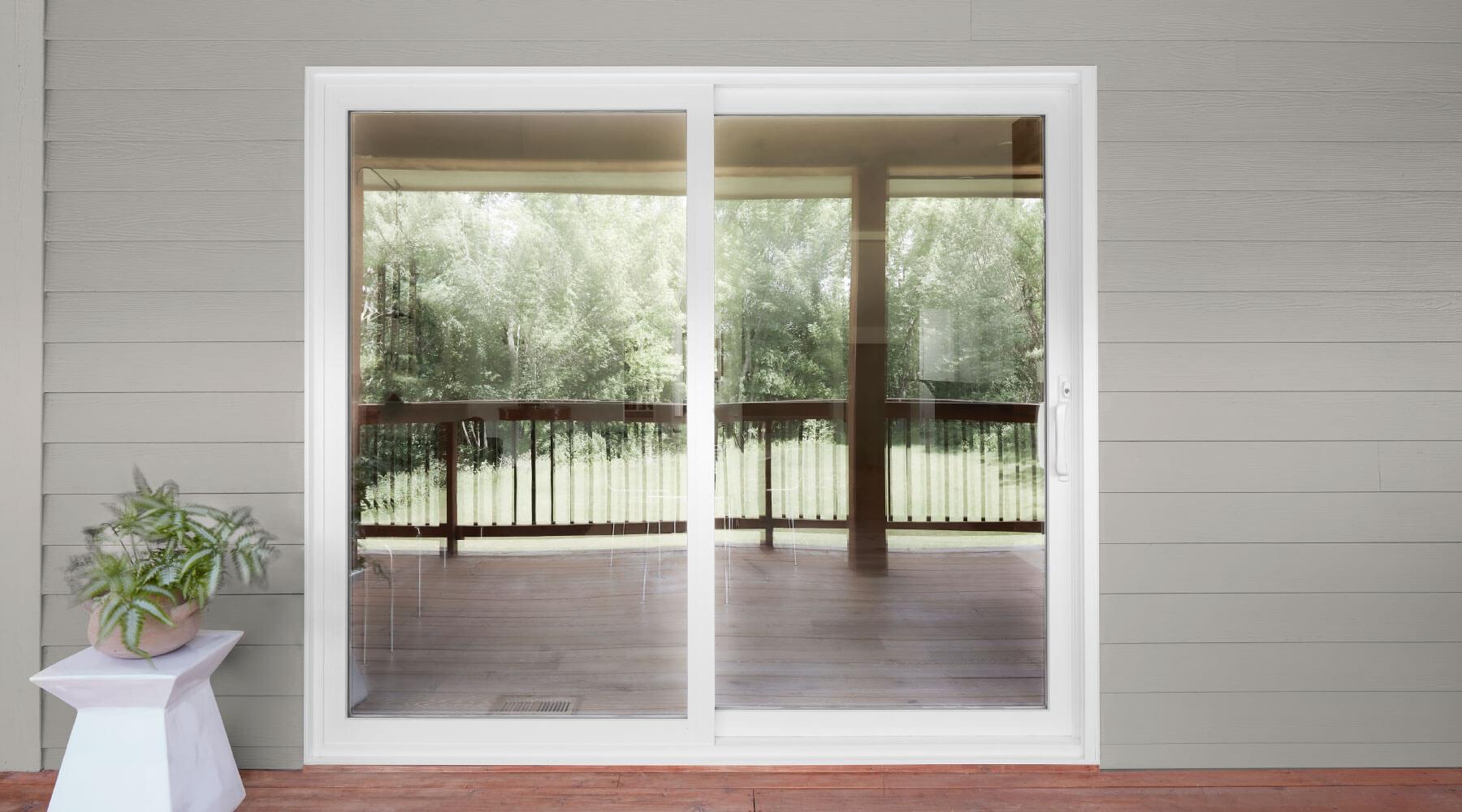the patio door replacement process pella