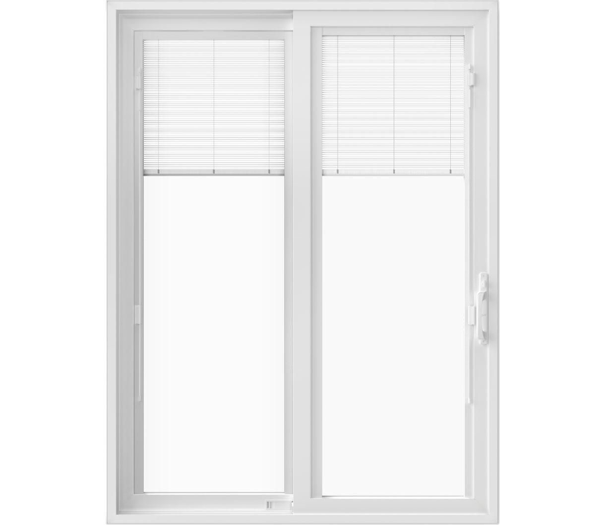 pella 250 series vinyl sliding patio door