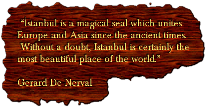 """İstanbul is a magical seal which unites 