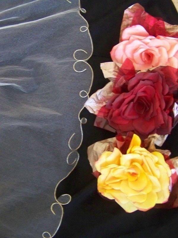 Swirl Edged Wedding Veil How To Make A Veil No Sew On