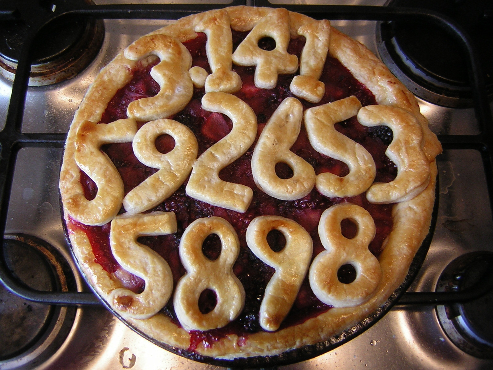 Pi Pie A Berry Pie Cooking And Baking On Cut Out