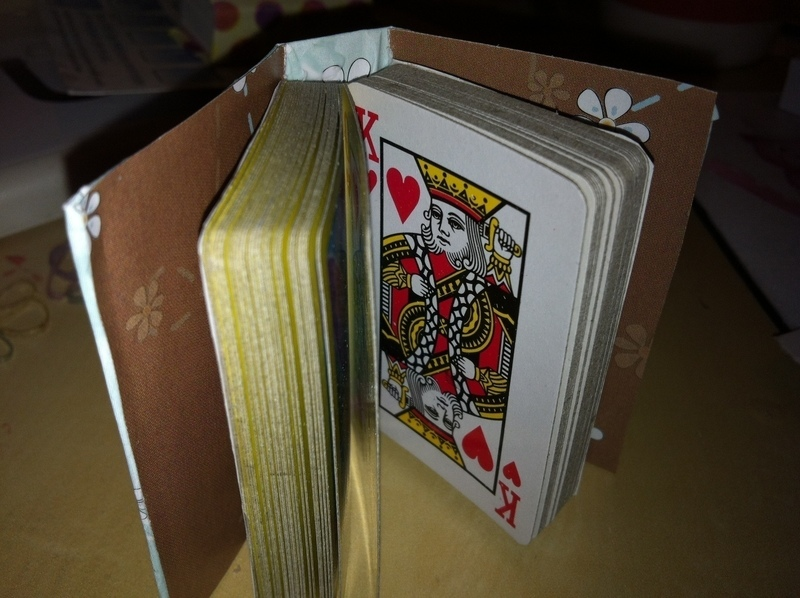 Mini Playing Cards Book 183 How To Make A Playing Card