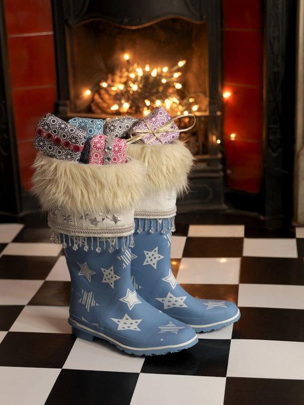 Wellington Boot Christmas Stockings 183 How To Make A