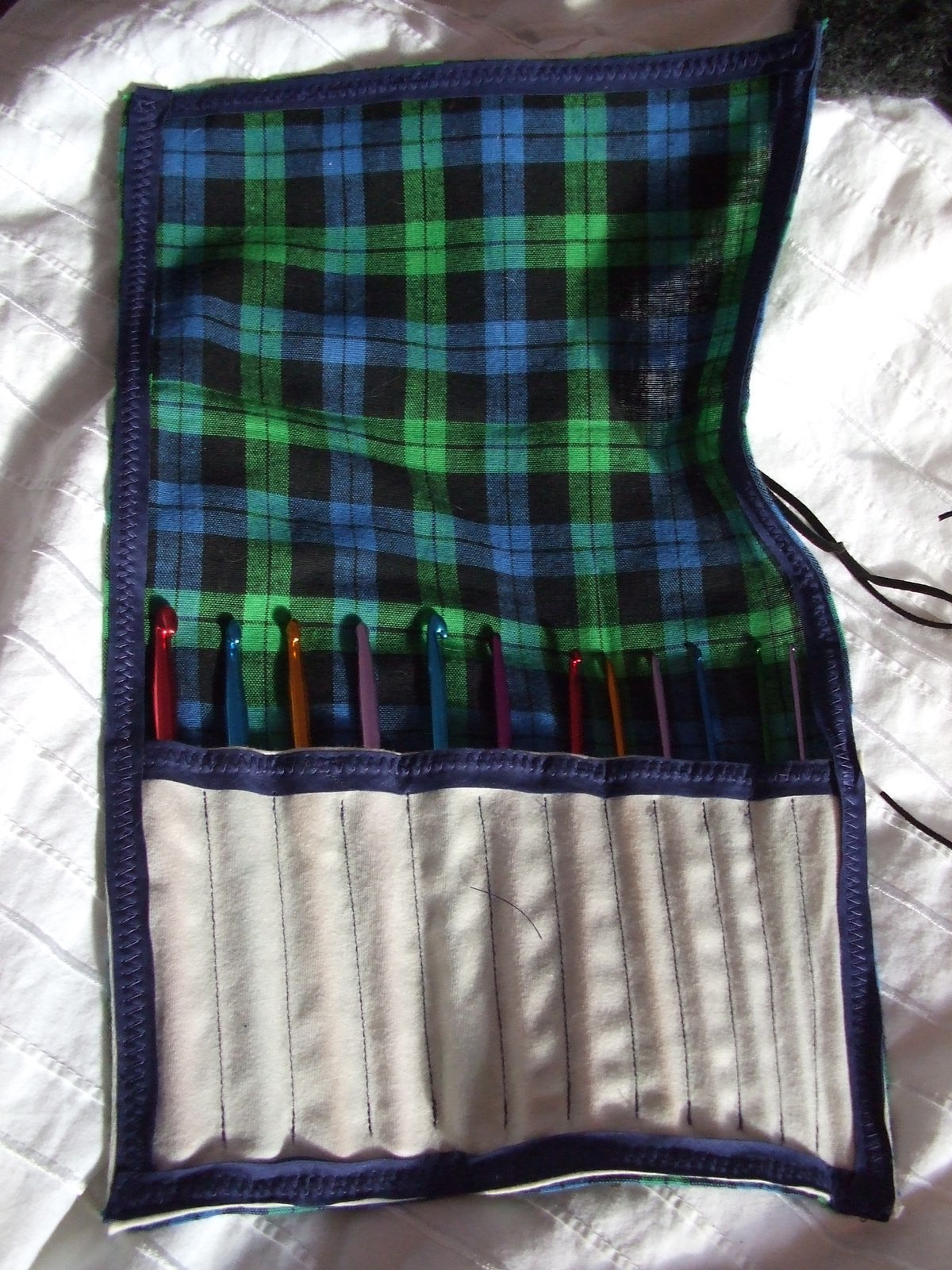 Crochet Hook Case How To Sew A Roll Up Pouch Sewing On Cut Out Keep How To By