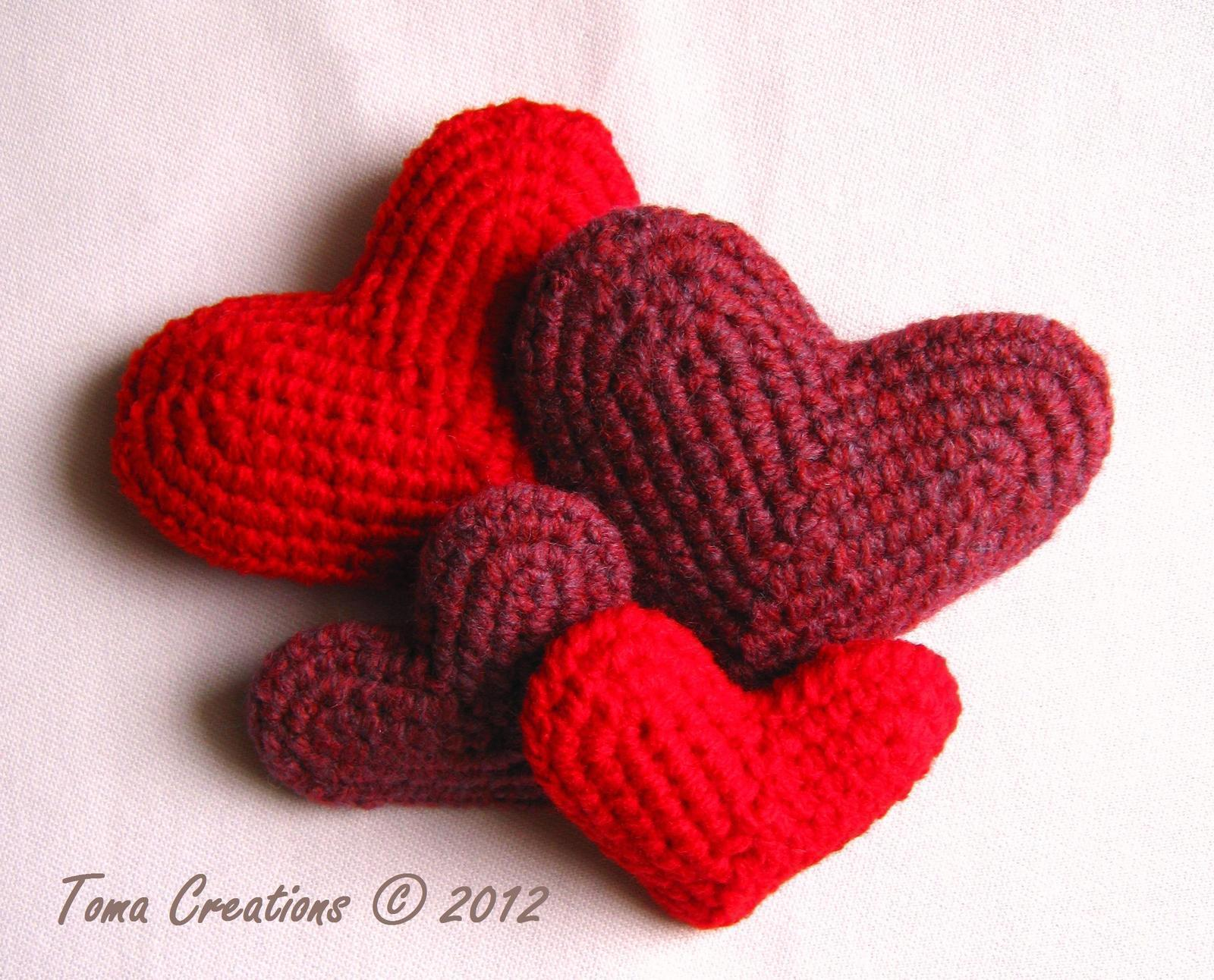 Crocheted Hearts How To Make A Shape Plushie Crochet