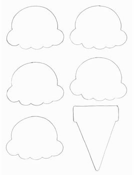 Paper Ice Cream Cone Project How To Make A Paper Model