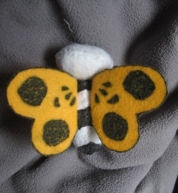 Undead Butterfly Adventure Time Plushie A Butterfly