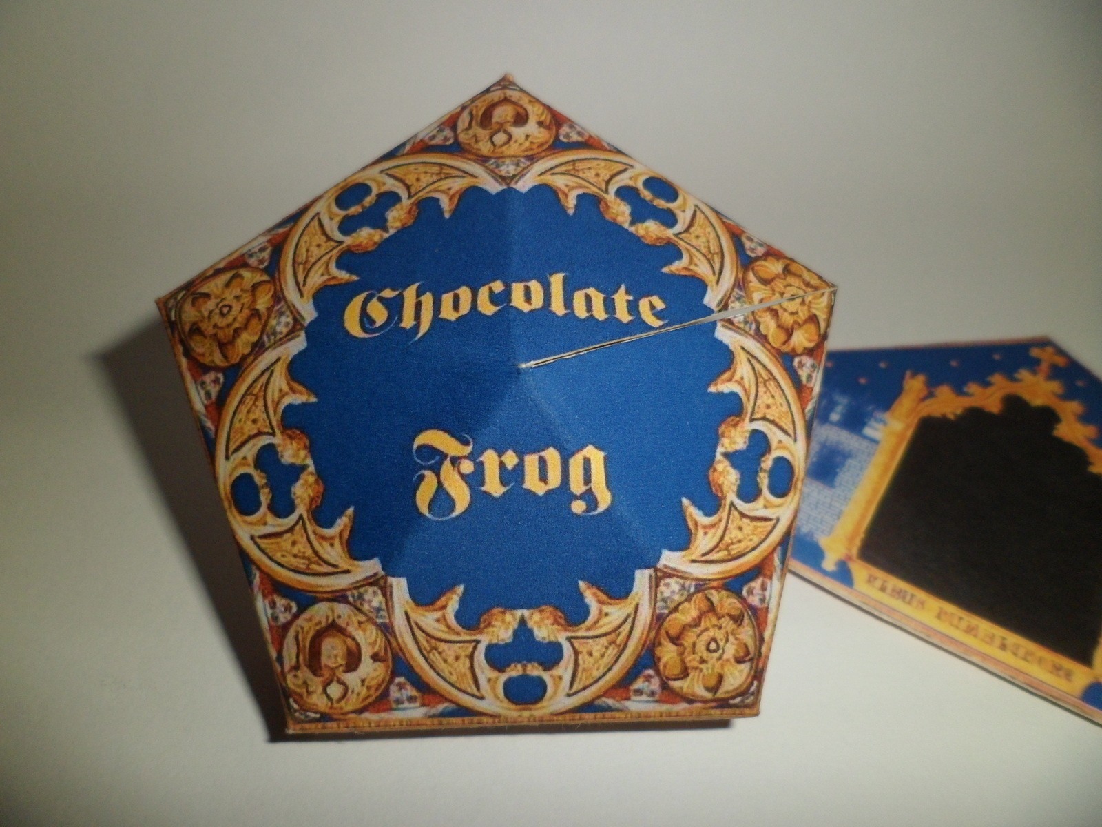 Chocolate Frog How To Fold An Origami Box Paper
