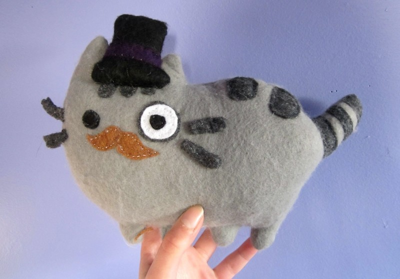 Pusheen Plushie How To Make A Cat Plushie Sewing On Cut Out Keep